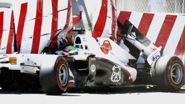 L'accident de Sergio Perez