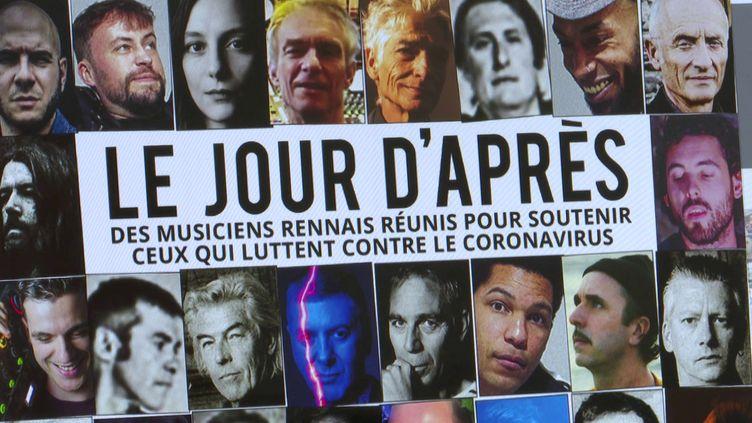 """La pochette de la compilation """"Le jour d'après"""" (DR)"""