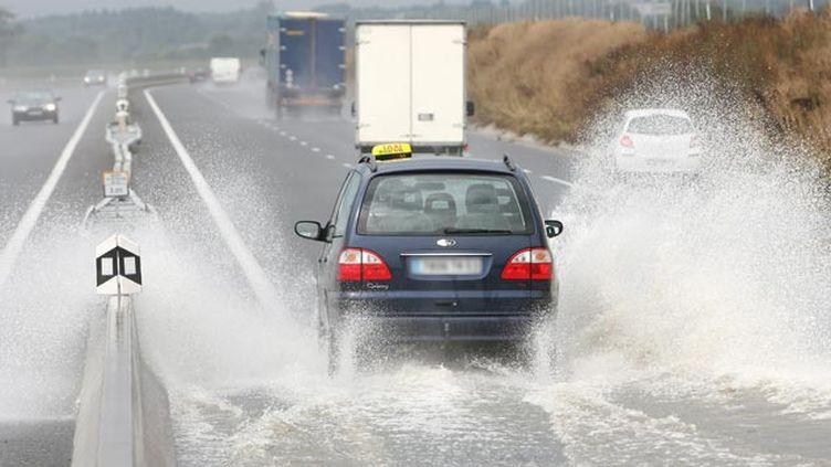 (De fortes pluies sont annoncées sur l'ouest © maxPPP)
