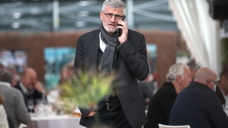 Gilles Moretton, le président de la FFT, est face à un énorme chantier. (JEAN-MARC LOOS / MAXPPP)