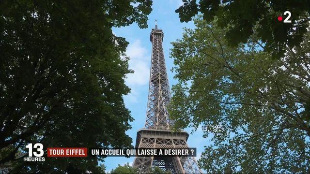 Tour Eiffel : une file d'attente de plus en plus longue