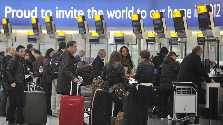 Heathrow accueille environ 69 millions de passagers chaque année. (ANDY RAIN / MAXPPP)