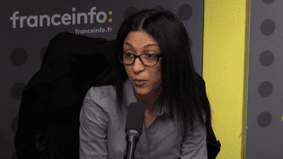 Henda Ayari, le 30 octobre 2017. (FRANCEINFO)