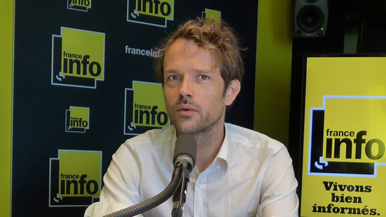 (Julien Langlet du service politique de France Info © RF)
