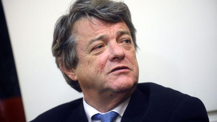 Jean-Louis Borloo à Marseille (Bouches-du-Rhône), le 29 octobre 2012. (MAXPPP)