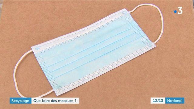 Recyclage : que faire des masques sanitaires ?