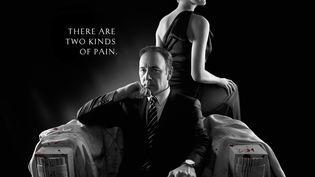 """Extrait de l'affiche de la série """"House of Cards"""", produite par Netflix. (KOBAL / THE PICTURE DESK / AFP)"""
