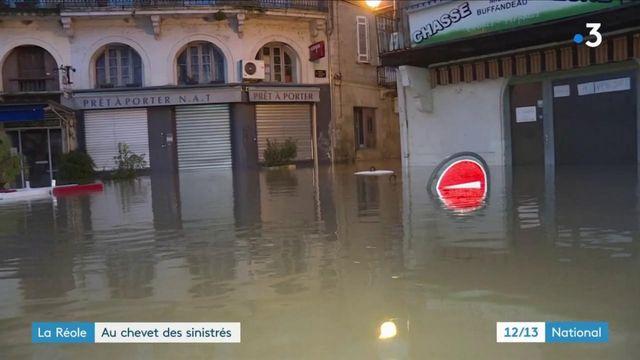 Inondations : La Réole s'organise devant la dangereuse montée de la Garonne