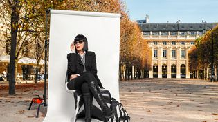 Chantal Thomass au Palais Royal pour son exposition à la Joyce Galerie (JO ZHOU)