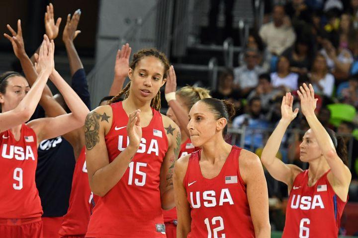 L'équipe américaine féminine de basketball