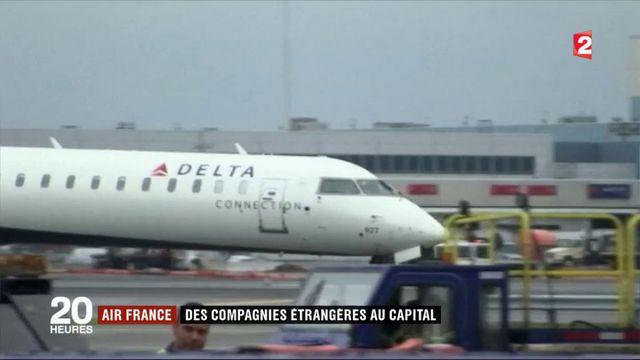 Air France : des compagnies étrangères au capital