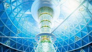 Les japonais et leur Atlantis moderne  (Shimizu Corporation/Sipa)