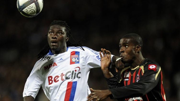 Le Lyonnais Gomis face à Nice
