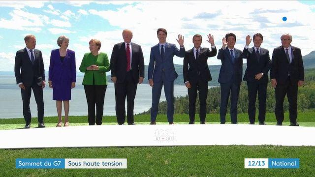 G7 : un sommet sous haute tension