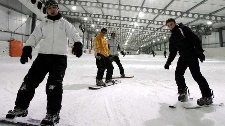 Le Snowhall d'Amnéville-les-Thermes (Moselle), le 17 décembre 2005. ( MAXPPP)