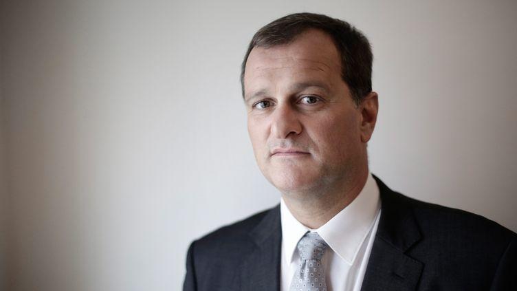 Le vice-président du Front National, Louis Alliot, à Paris, le 15 octobre 2014. (  MAXPPP)