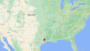 Houston dans l'Etat du Texas (Etats-Unis). (GOOGLE MAPS)