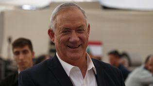 Le ministre israélien de la Défense Benny Gantz, le 4 juillet 2021. (JALAA MAREY / AFP)