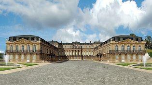 Le projet de reconstruction de l'ancien château de Saint-Cloud  (Reconstruisons Saint-Cloud - Photomontage de Daniel Eon)