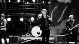 """Les Rolling Stones dans le clip de """"Doom and Gloom"""".  (Universal Music)"""