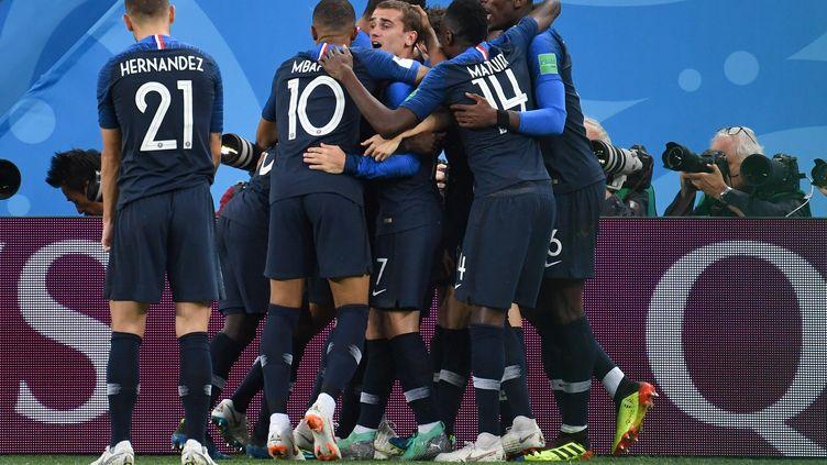 La victoire des Bleus n'a pas laissé insensible la presse française, comme Belge.  (FRANK HOERMANN/SVEN SIMON / SVEN SIMON)