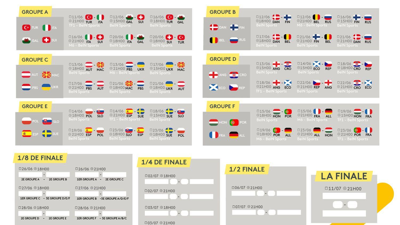 Euro 2021 : la compétition continue avec les 8e de finale, le calendrier complet des matches