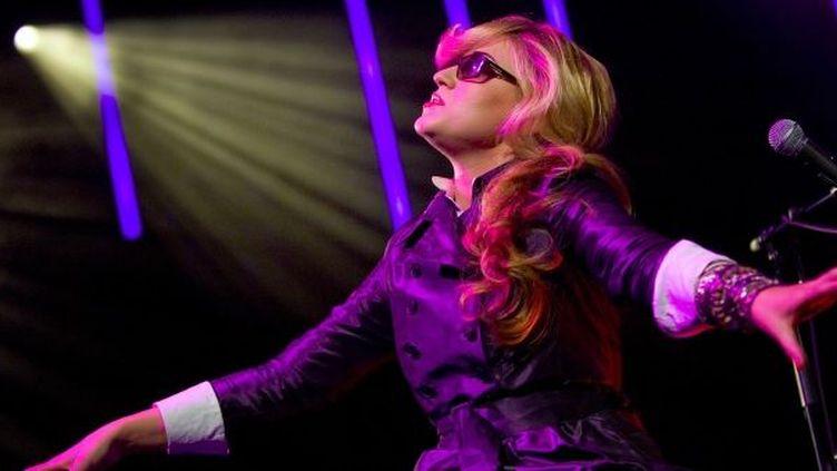 La chanteuse Melody Gardot  (FABRICE COFFRINI / AFP)
