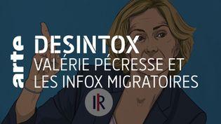 Non, il n'y a pas 95% de demandeurs d'asile déboutés qui restent sur le sol français (ARTE/2P2L)