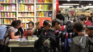 Le Salon du livre de jeunesse de Montreuil (ici dans une photo de 2010) a lieu du 26 novembre au 1er décembre 2014.  (SIMON ISABELLE/SIPA)