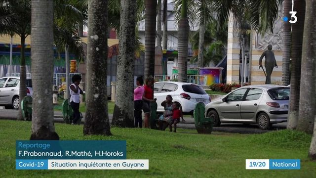 Coronavirus : l'épidémie progresse en Guyane