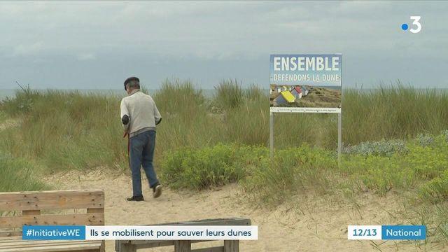 Manche : une association sensibilise à l'érosion de la dune de Gouville-sur-Mer