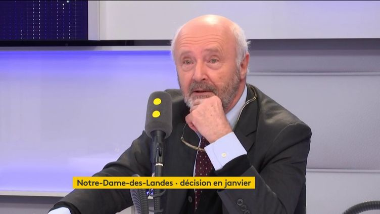 Brice Lalonde, ancien ministre de l'Environnement, était l'invité de Tout est politique, mardi 12 décembre. (FRANCEINFO / RADIOFRANCE)