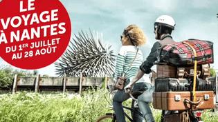 """""""Le voyage à Nantes"""" envahit l'espace public de la ville tout l'été  (France 3 / Culturebox)"""