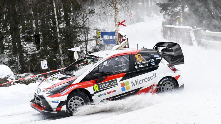 Jari-Matti Latvala  (Toyota) (JONATHAN NACKSTRAND / AFP)