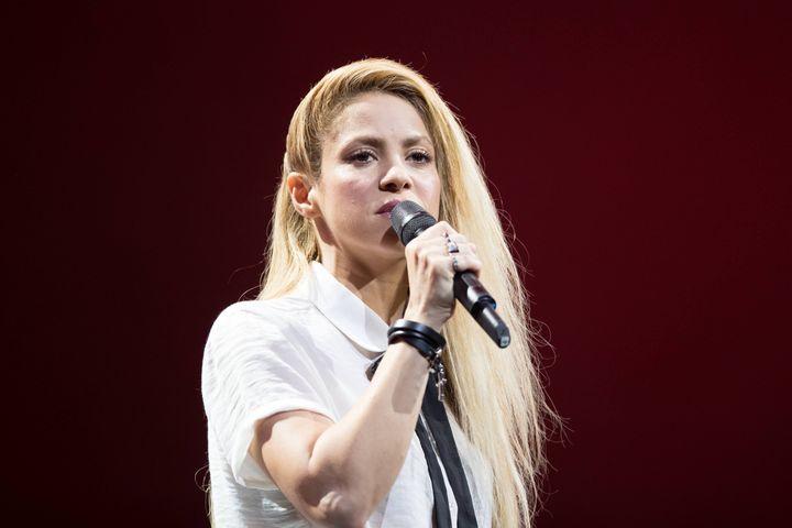 La chanteuse colombienne Shakira, à Hambourg (Allemagne) le 6 juillet 2017. (SEBWES IMAGES / SEBWES IMAGES/SEBASTIAN WESEMANN)