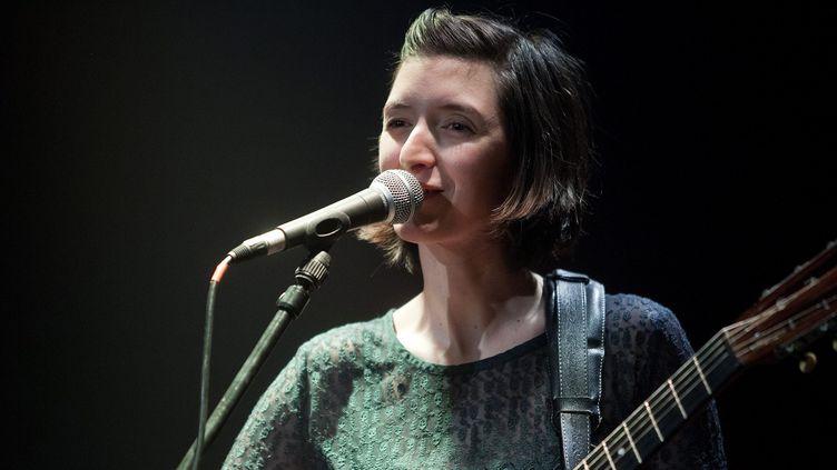 Pauline Croze en concert à Marcq-en-Baroeul le 13 février 2015  (Edouard Bride / PhotoPQR / La Voix du Nord / MAXPPP)