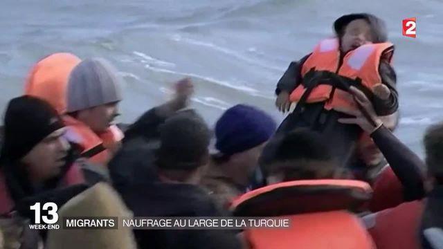 Migrants : 18 personnes meurent au large de la Turquie