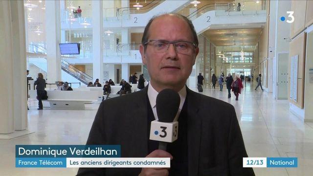Suicides à France Télécom : les anciens dirigeants condamnés pour harcèlement moral