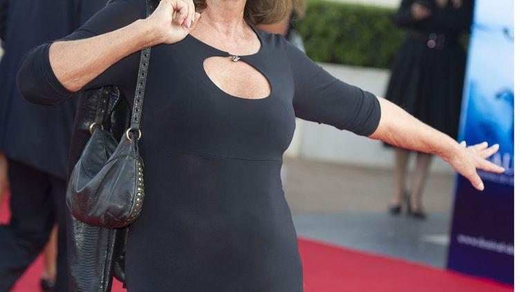 L'actrice Marie-France Pisier, le 3 septembre 2010 à Deauville (Calvados). (NIVIERE/BENAROCH/SIPA)
