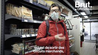 VIDEO. Ce supermarché parisien est autogéré par ses clients (BRUT)