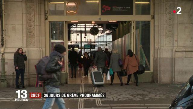 SNCF : 36 jours de grève programmés