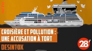 Désintox. Non, les paquebots de croisière ne rejettent pas tous leurs déchets en mer (ARTE/LIBÉRATION/2P2L)