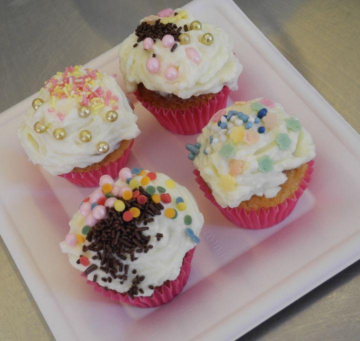 Les cupcakes confectionnés par les enfants  (Laurence Houot / Culturebox)