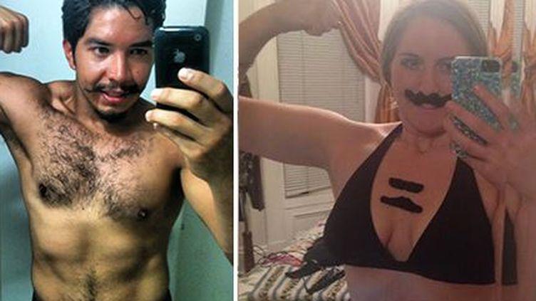 Elle reçoit les selfies de son voleur et les parodie
