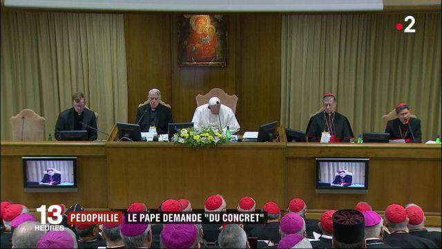 """Pédophilie : le pape François demande """"du concret"""""""