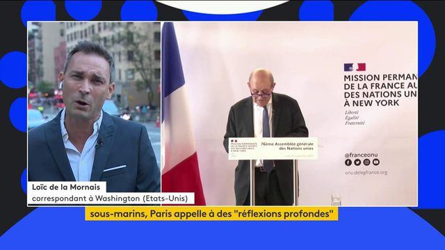Crise des sous-marins : Jean-Yves Le Drian a pris la parole en marge du sommet de l'ONU