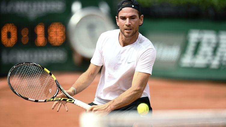 Le joueur français Adrian Mannarino (CHRISTOPHE SIMON / AFP)