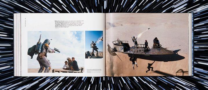 Double page de Les Archives Star Wars de Paul Ducan, Editions Taschen (TASCHEN)