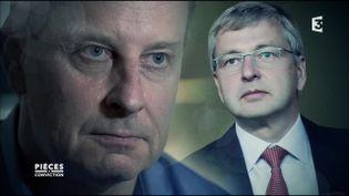 Yves Bouvier vs Dmitry Rybolovlev (FRANCE 3 / FRANCETV INFO)