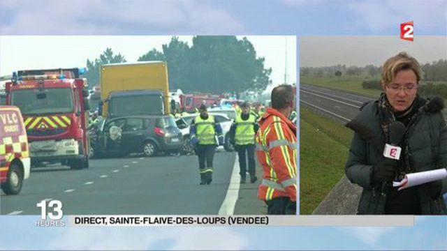 Carambolage meurtrier en Vendée : le plan ORSEC secours à nombreuses victimes déclenché